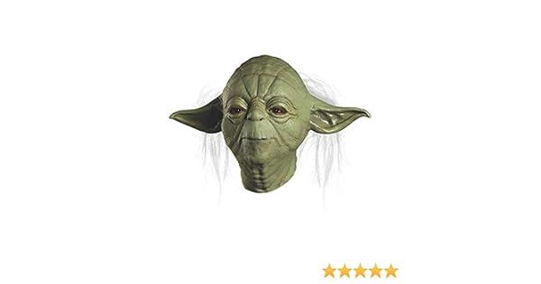 Adulte Unisexe ST-34968 Multicouleur Rubies- Rubies-Masque Officiel Yoda Ben Cooper Edition-ST-34965 D/éguisement