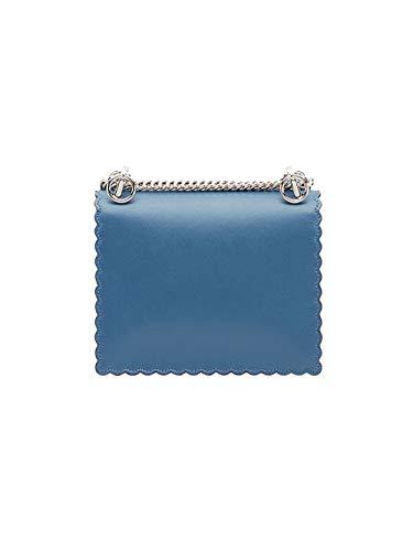 Fendi, Borsa a spalla uomo Blu chiaro Formato un formato di marca