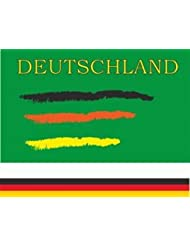Deutschland conv.4 Fanflagge Fahne Flagge Grösse 1,50x0,90