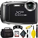 FUJIFILM FinePix XP130 Digital Camera (Silver) Plus Bundle