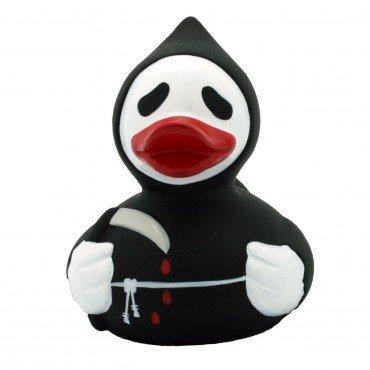 iente Schwimmente Sammeln Ente Halloween Superheld Krone: Art: Sensenmann Ente ()
