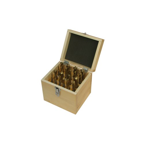 Jet 65021020-piece Tin Coated double End Mill set