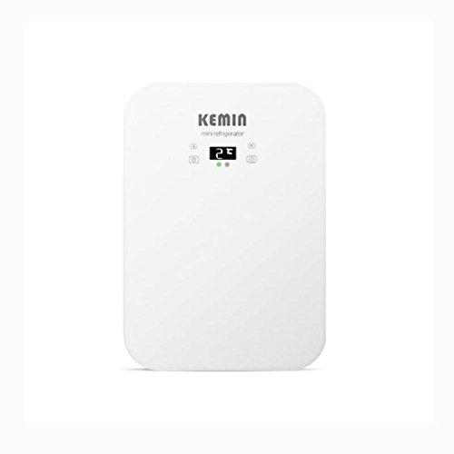 HuanLeBao Thermoelektrische Kühlbox,20Liter, 72W?anschlussfertig für den PKW, 12-Volt, Kühlen und Heiz-Funktion, tragbarer Mini-Kühlschrank , White , 20L