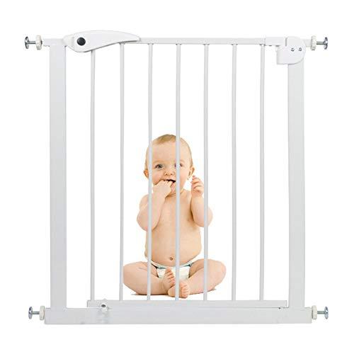 QIANDA Türgitter Treppenschutz Gitter Flur Breit Ideal for Kinder Und Haustiere Barrier Protector Treppenwächter Easy Walk, Breite 65-142cm (Size : 105-112cm)