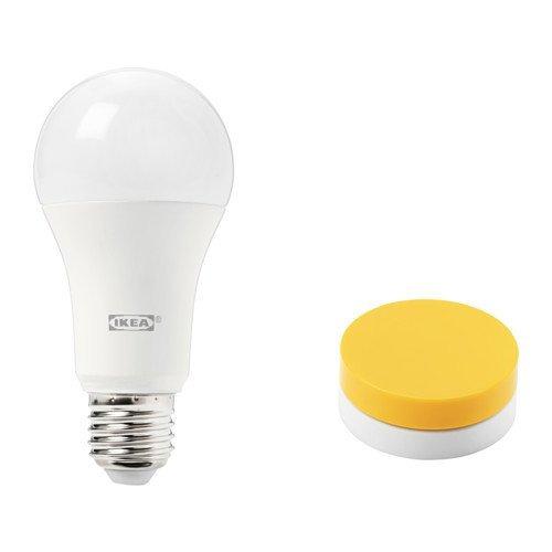 Ikea tradfri regulador de Juego para iluminación en amarillo; cálida luz de...