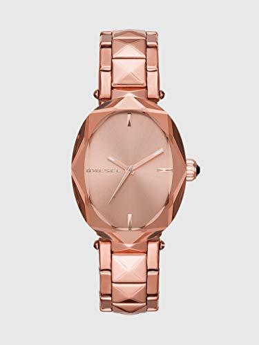 5674c8e12be2 Diesel Reloj Analógico para Mujer de Cuarzo con Correa en Acero Inoxidable  DZ5580 ...