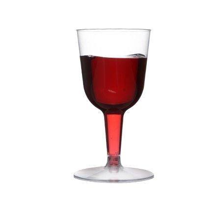Elegante Mini-Weingläser/Weinkelche aus Kunststoff,70ml,20Stück