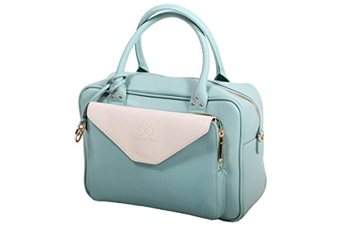 Andie Blue Sac + pochette collection HEKA A8066