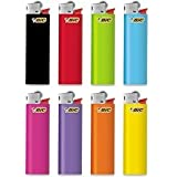 BiC Slim Lighters Blister (Multicolour) - Pack of 2