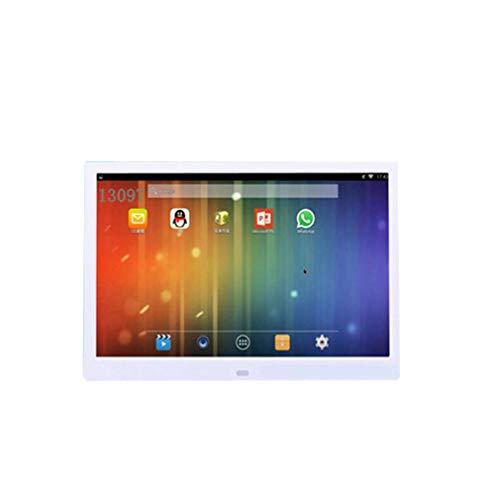 Marco De Fotos Digital De 13 Pulgadas HD LED Android Online Edition Publicidad Máquina WiFi Edition Álbum Electrónico Negro Blanco,White