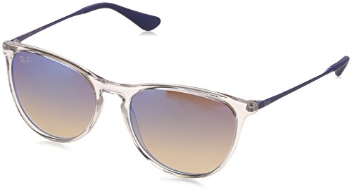 RAYBAN JUNIOR Mädchen Sonnenbrille Izzy Transparent/Browngradientdarkbrownmirr, 50