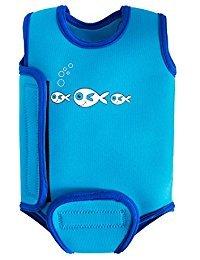 Swimbest Baby Badeanzug, Blauer Fisch, 12-24 Monate (BWTWS6-24)