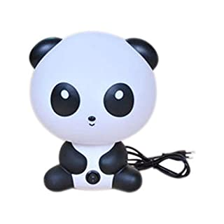 Aikesi. Night Light Plug-in Night Light Table Lamp Soft Silicone Panda Lamp for Kids