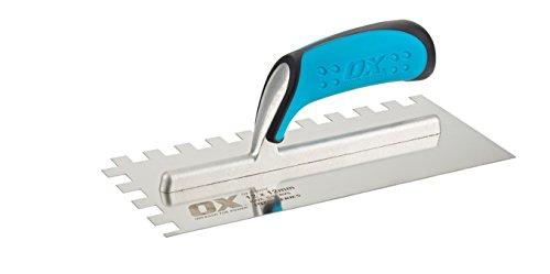 OX ox-p403212Pro Notch Maurerkelle, mehrfarbig, 12mm