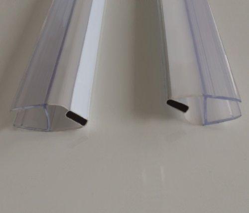 Preisvergleich Produktbild 6-8 mm Magnetdichtung für Duschen Ersatzdichtung Duschdichtung Dichtleiste Dichtprofil 190 cm