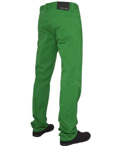 Urban Classics 5 Pockets Black green