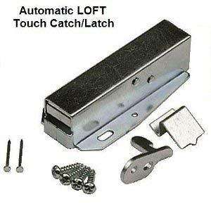 Schloss-loft (Ironmongery World® Dachboden Schrank Loft Tür Hatch Latch Touch Push Catch)