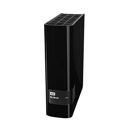 Western Digital 6TB My Book for Mac Desktop externe Festplatte - USB 3.0 - WDBYCC0060HBK-EESN
