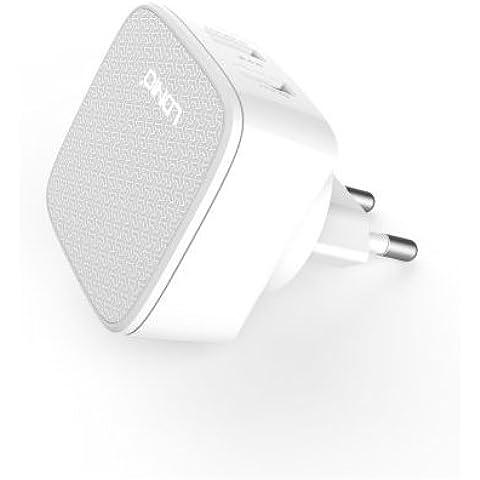 Ldnio® GoClever Insignia 800 Win / Insignia 800M 8 Pollice Tablet Bianco 2 Pin EU Caricabatteria Parete 2.4 Amp Dual USB Porto Spina Veloce Caricabatterie Adattatore