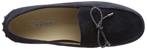 Gabor Shoes Comfort, Mocassini Donna Blu (ocean 46)