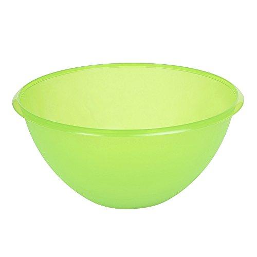 OKT 2053850 Saladier 6 l en Vert-Transparent, Plastique