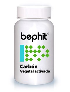 Bephit Carbón Vegetal Activado 450 Mg Suplemento - 100 Cápsulas