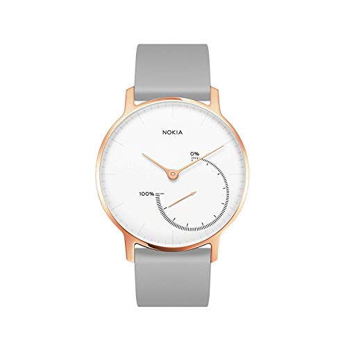 Withings Women's HWA01-PinkGold-all-Inter Connected Watch, Rose Gold, 36mm