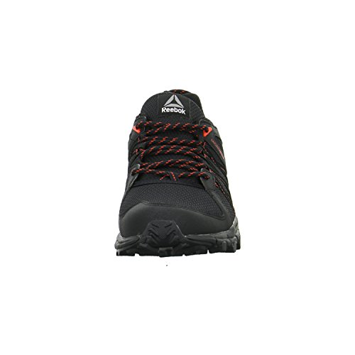 Reebok Trailgrip Rs 5.0, Sneaker a Collo Basso Donna (Black/Carotene/Coal)
