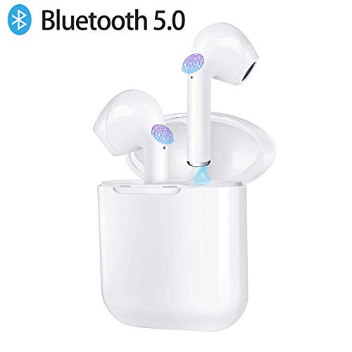 Bluetooth Headphones, i9s TWS Bluetooth 5 0 True Wireless Earphones,  Waterproof TWS Mini Sports Headsets with Charging Case, Built-in Noise  Cancelling