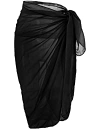d57b5c636e DiaryLook Large Sarong Beach Cover Up Wrap Beachwear Skirt Dress for Women