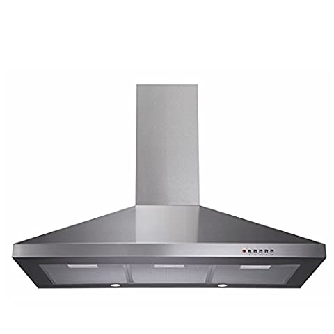 CDA ECH91SS 90cm Chimney Cooker Hood Extractor in Stainless Steel