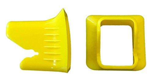 Preisvergleich Produktbild kiddy 41000FU000 Einführhilfen für Guardianfix, Cruiserfix und Phoenixfix, gelb