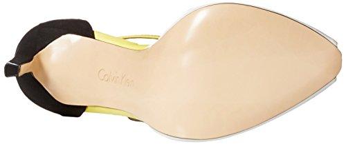 Calvin Klein Sirena Synthétique Talons PLT WHT-BLK-LSR L