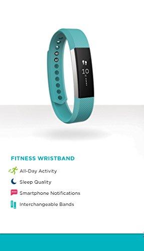 Fitbit Unisex Fitness Armband Alta, Türkis S - 6