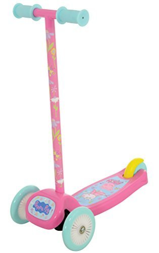 'Peppa Pig m14320'Tilt N Turn Scooter juguete