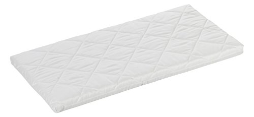 ALVI Babymatratze Air & Clean | 100 % Baumwollbezug | Matratze für Stubenwagen | optimale Durchlüftung dank Klima-Kanäle | Wiegenmatratze 4 cm soft für Kinderwagen, Stubenkorb, Wiege, Beistellbett, Größe:80 x 40 cm