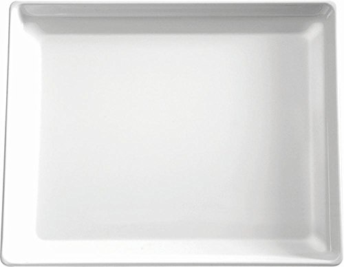 APS gf076Float Melamin-Tablett, weiß