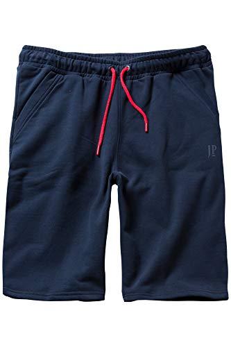 JP 1880 Herren große Größen bis 10XL, Sweat-Bermuda, Kurze Hose mit elastischem Bund, Sweathose mit Taschen, Schlupfhose Navy 6XL 714276 76-6XL