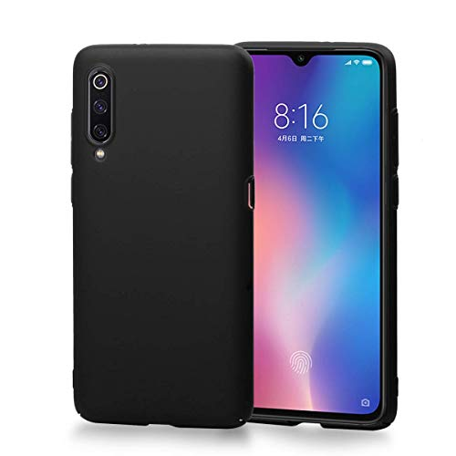 Cover for Xiaomi Mi 9 SE, Weideworld Rigid Hard PC Cover [Ultrathin Design] [AntiGraffio] Case for Xiaomi Mi 9 SE, Black