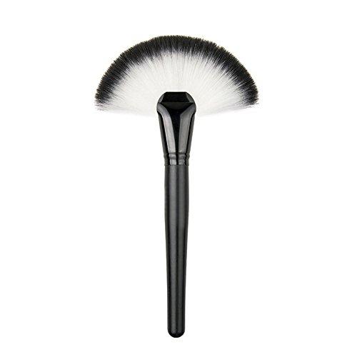 LianLe®1PCS Pinceau Brosse Plat Blush Fard à Joues Fond de Teint Poudre Libre Maquillage