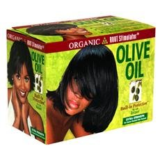 Lusters Organic Olive Oil Relaxer Kit extra strength (Relaxer Olive Hair Oil)