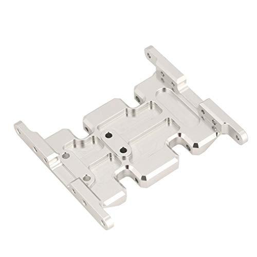 Manalada® Aluminium Getriebe-Montagesockel Kompaktplatte für Axial SCX10 RC TFL Autorahmen -