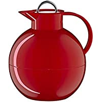 Alfi 0105031094 Isolierkanne Kugel Sonderetidion, Kunststoff rot 0,94 l