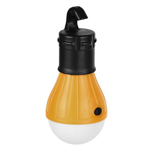 Swiftswan 1 stück weiches Licht praktische hängende 3 LED-Licht Outdoor Camping Zelt Laterne Angeln Glühbirne Lampe weißes Licht
