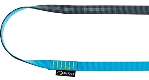 Edelrid Schlinge Tubular Sling, Slate/Icemint, 120 cm, 715651206020