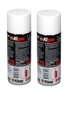 Kigas 2x reemplazos Correas de Repuesto 400ML y 5Palanca Adaptador