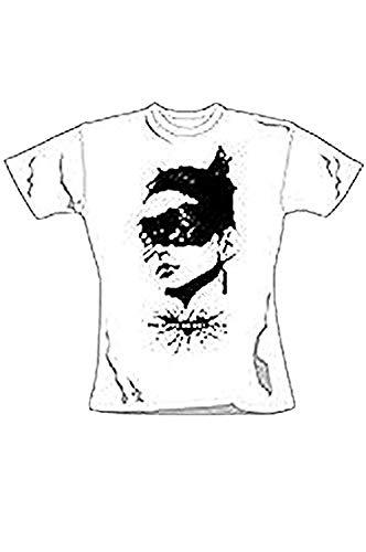 Batman - Catwoman Dunkler Ritter - Offizieles Damen T-Shirt - Weiß, XL