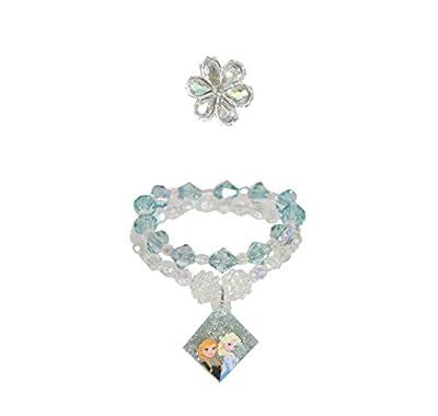 Disney frozen 3 piece bracelet and ring jewellery set de ToyCentre