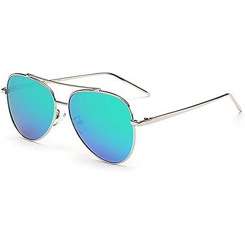 Highdas Donna Nuova Polarizzati Aviator Occhiali da sole Bicchieri per Guida Pesca Vintage