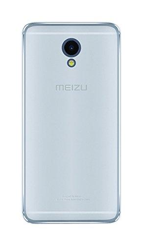 Phonix MZM5SGPW Custodia per Meizu M5S, Bianco Trasparente